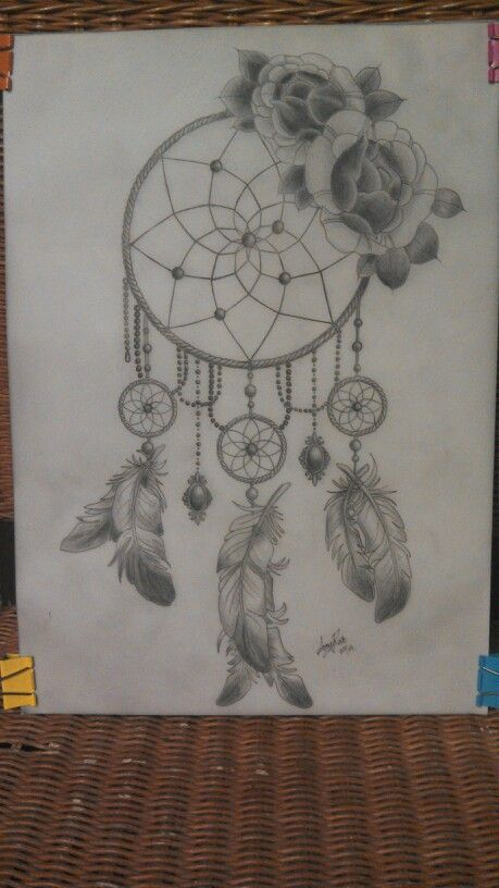 Traditional Dream Catcher Tattoo : traditional, dream, catcher, tattoo, Traditional, Dreamcatcher, Tattoo, Design., Dream, Catcher, Design,, Tattoo,