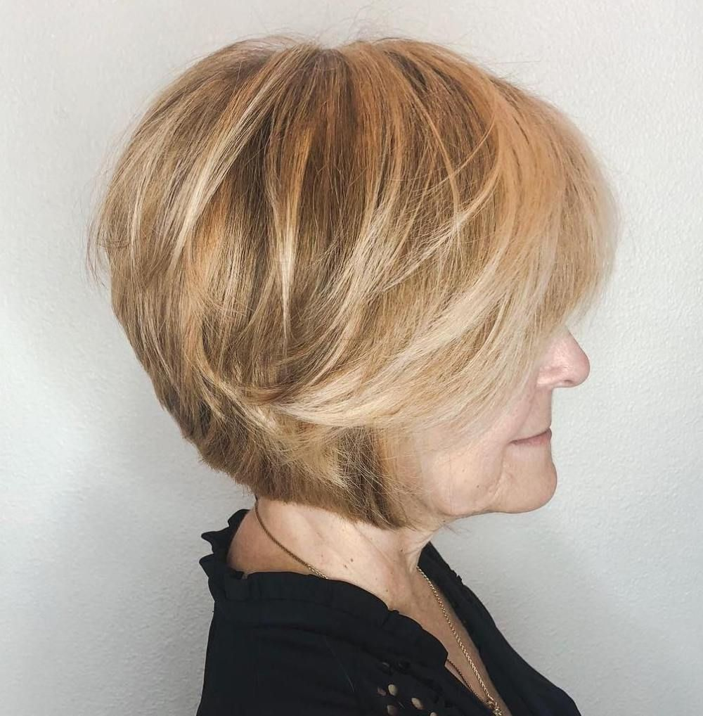 50 Fab Short Hairstyles And Haircuts For Women Over 60 In 2020 Short Hair Styles Highlights Brown Hair Balayage Brown Hair Balayage