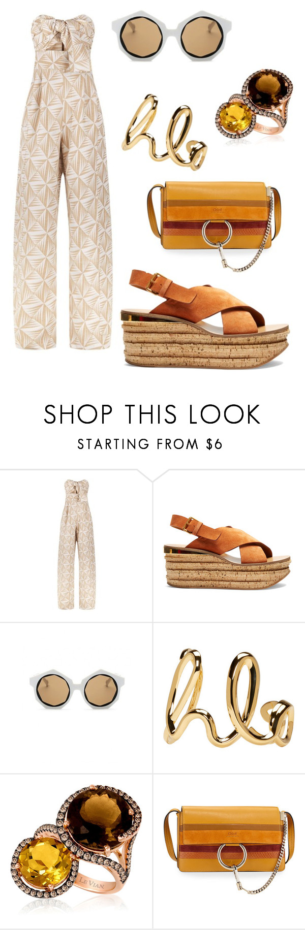 """""""Do the Hustle"""" by coco-fernandez on Polyvore featuring Johanna Ortiz and Chloé"""