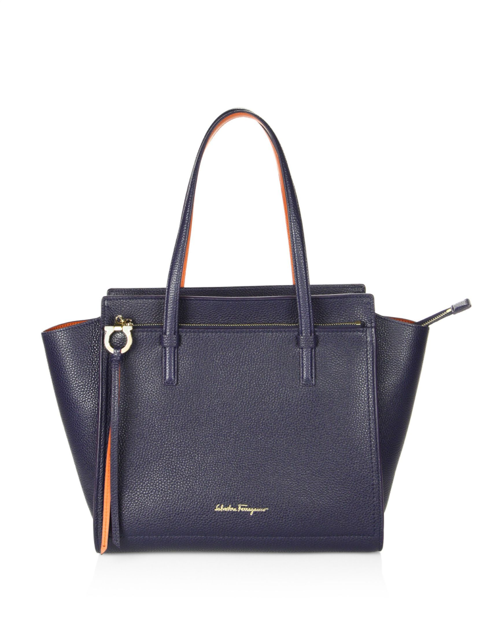 Black hammered leather bag Salvatore Ferragamo c4VBH8
