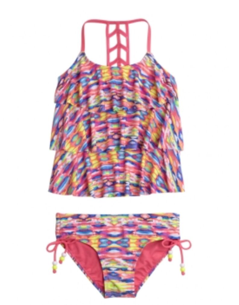 Tankini from justice | Summer(swimsuits/cover ups) | Pinterest ...