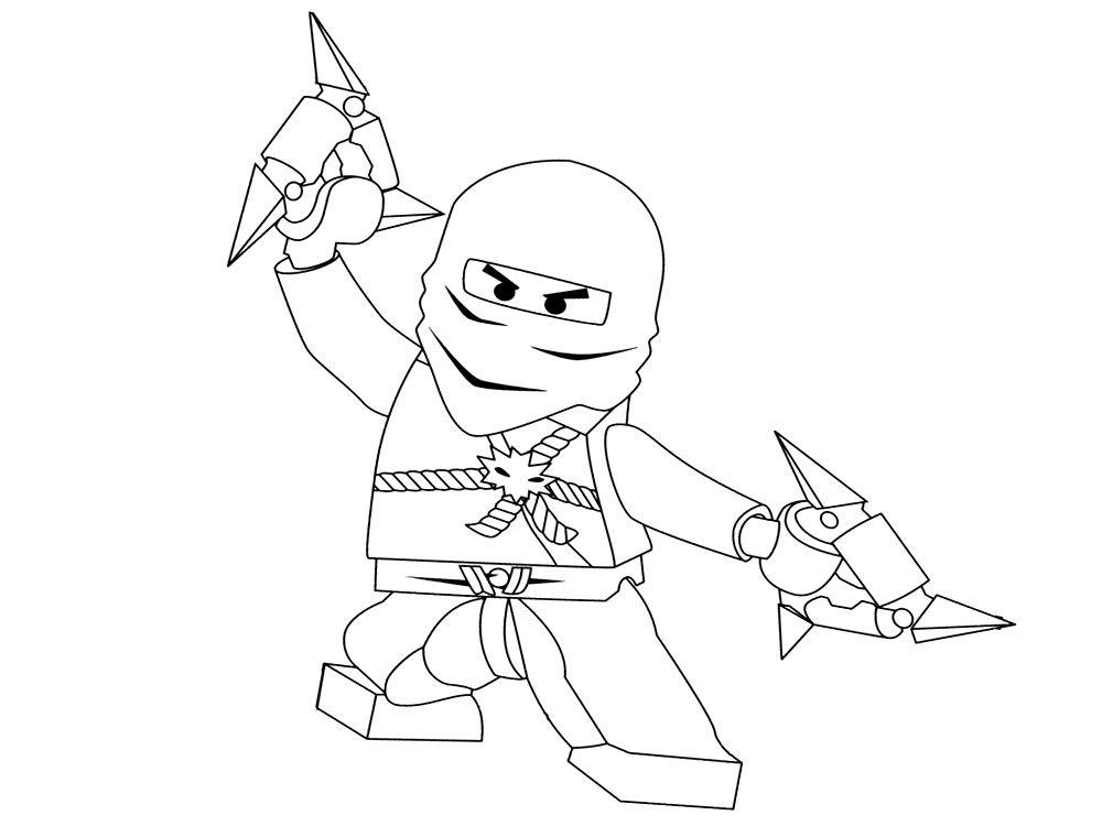 Imprimir imágenes dibujos para colorear - Lego Ninjago, para niños y ...