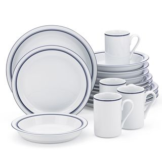 Shop for Dansk Christianshavn Blue 16-Piece Place Sitting. Get free delivery at Overstock.com - Your Online Kitchen