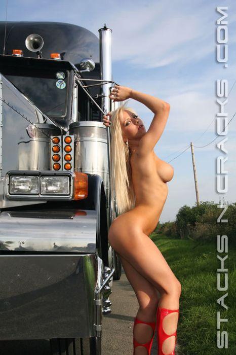 Semi trucks and girls naked