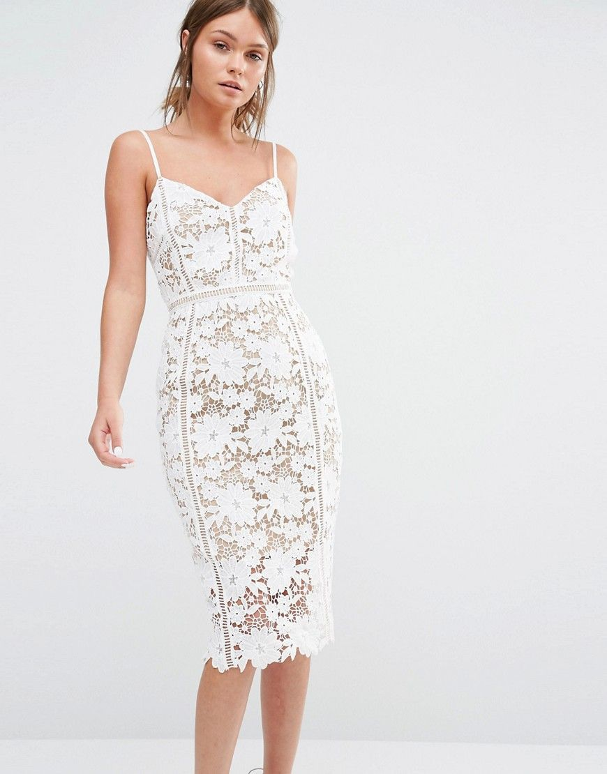 Image 1 of New Look Premium Crochet Lace Bodycon Dress | dresses ...