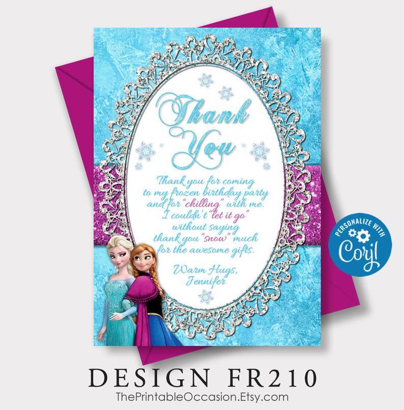 Editable Frozen Birthday Invitation Frozen Birthday Party Etsy Frozen Birthday Invitations Printable Birthday Invitations Frozen Birthday