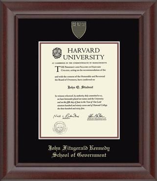 Harvard University Diploma Frame Harvard And School
