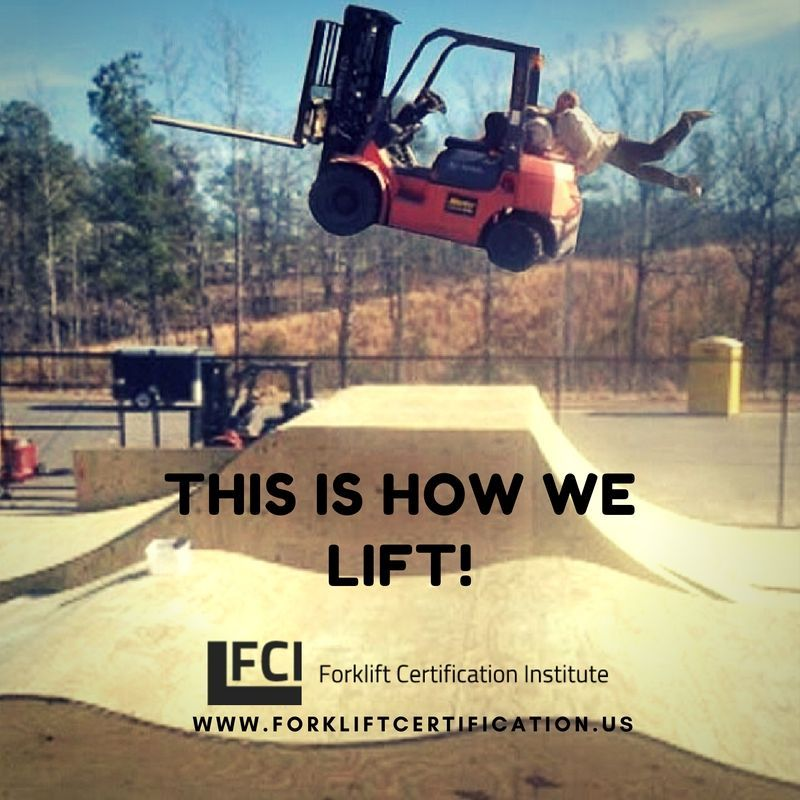 How Do You Lift Forklifthumor Forklift Forklifttraining