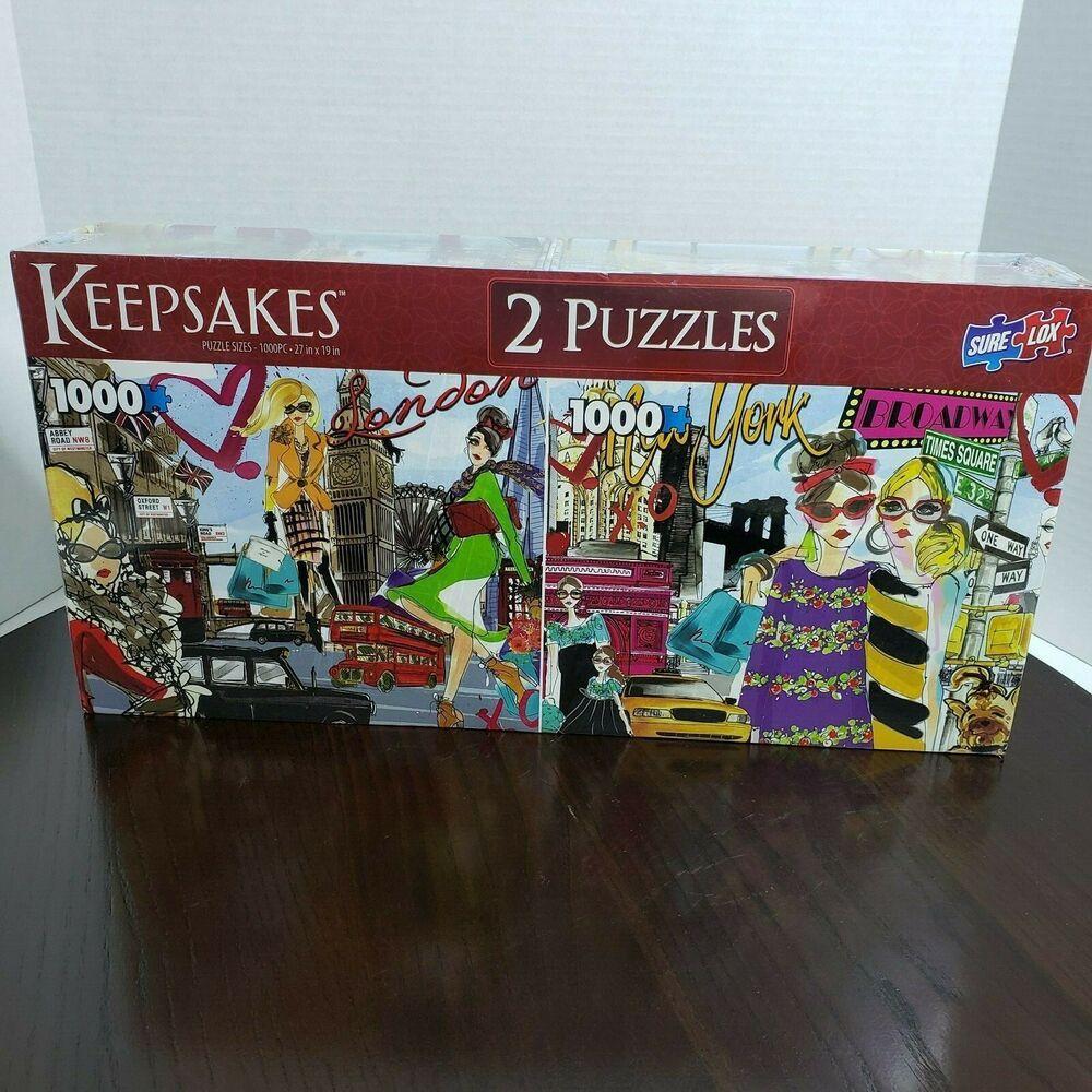 Keepsakes Jigsaw Puzzle Covered Bridge NEW in BOX