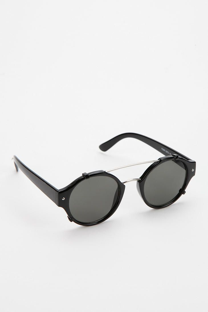 Spitfire Flick Round Sunglasses - Urban Outfitters