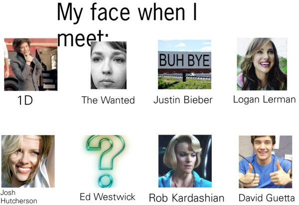 """""""My face when i meet...."""" by lalahoran19 on Polyvore"""
