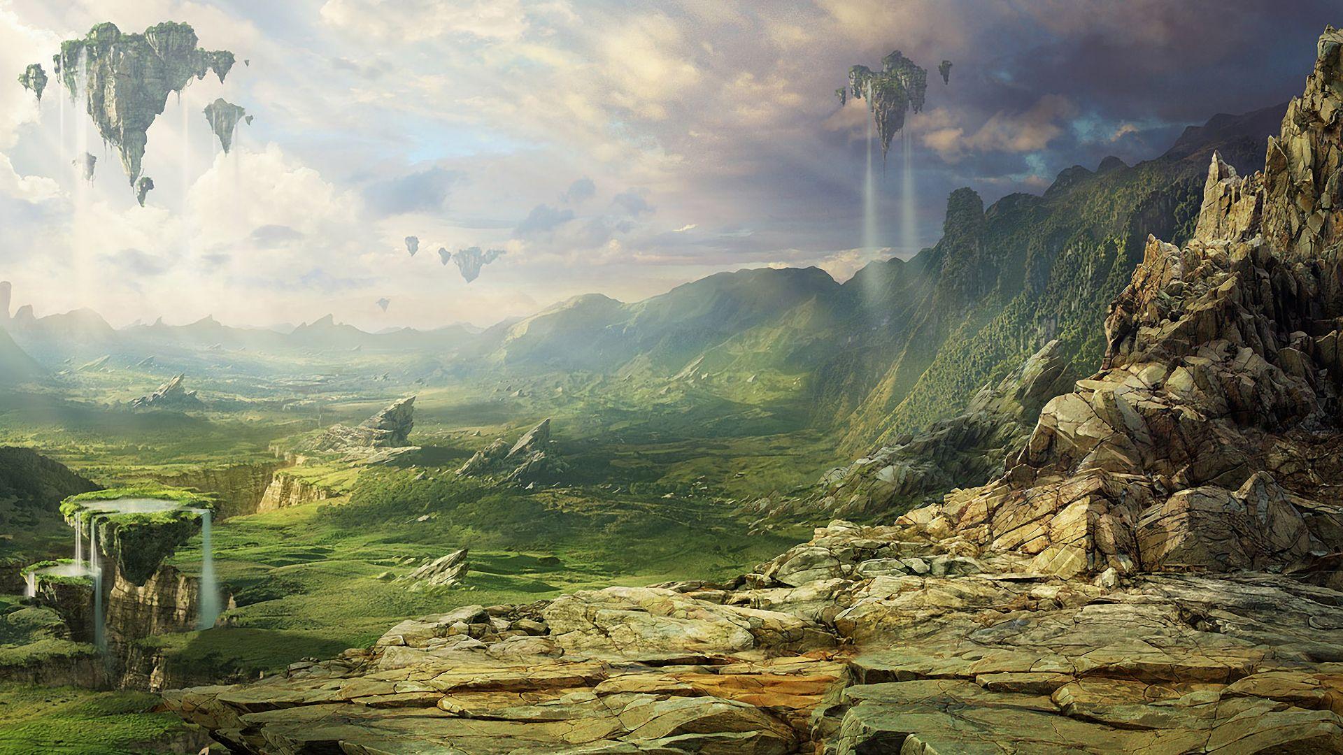 Sci Fi Landscape Wallpaper Free Hgt Landscape Wallpaper Fantasy Landscape Environment Concept Art