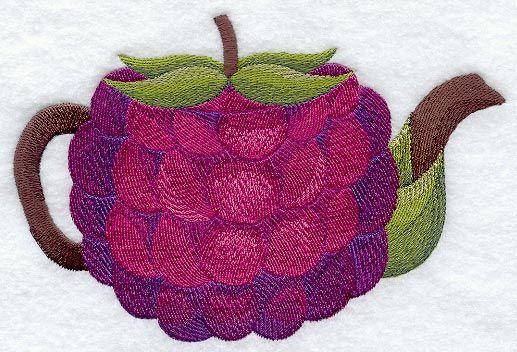 Raspberry Teapot