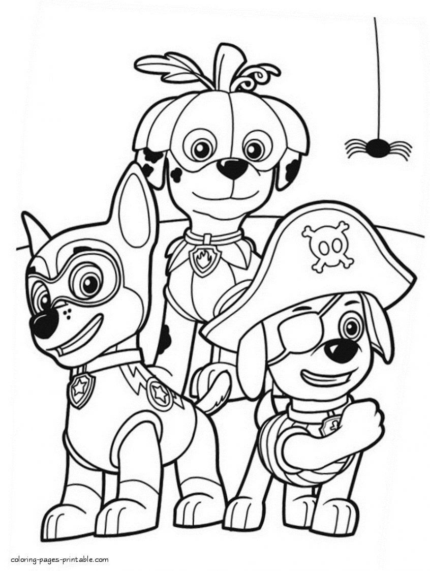 Free Halloween Coloring Page Coloring Halloween Coloring Pages Printables Paw Patrol Paw Patrol Coloring Paw Patrol Coloring Pages Halloween Coloring Pages