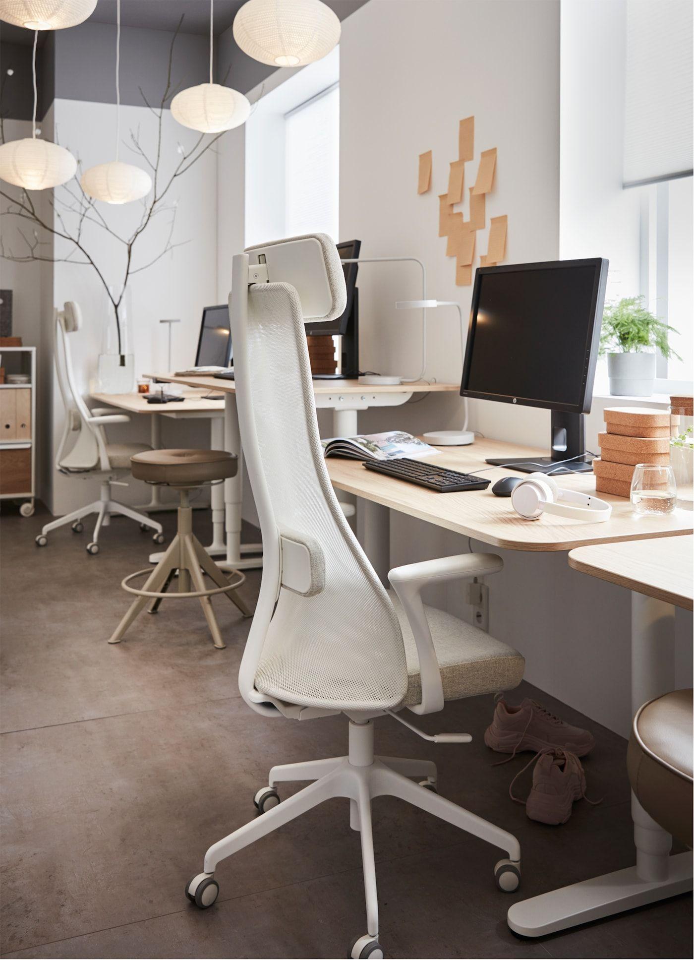 Werk En Ontspanning In Balans Sillas De Oficina Ikea Escritorio De Oficina