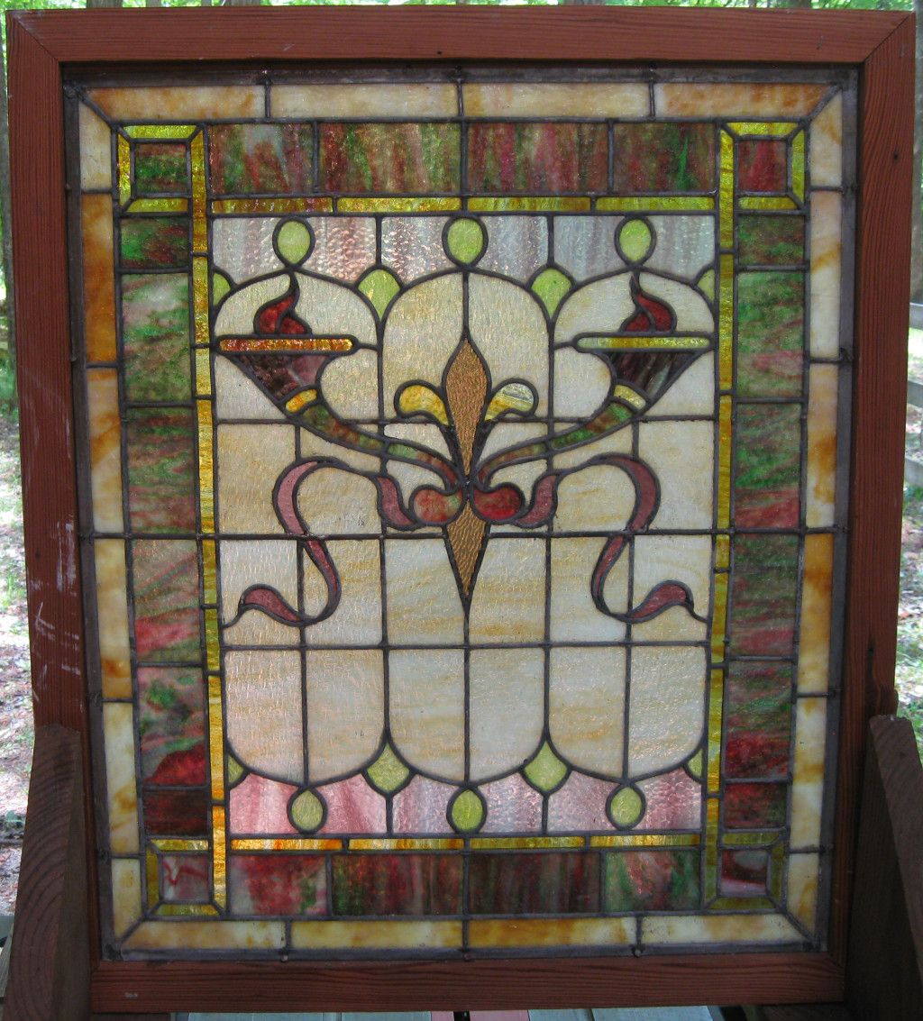Glass · Antique Stained ... - Antique Stained Glass Windows - Carolina Architectural Salvage