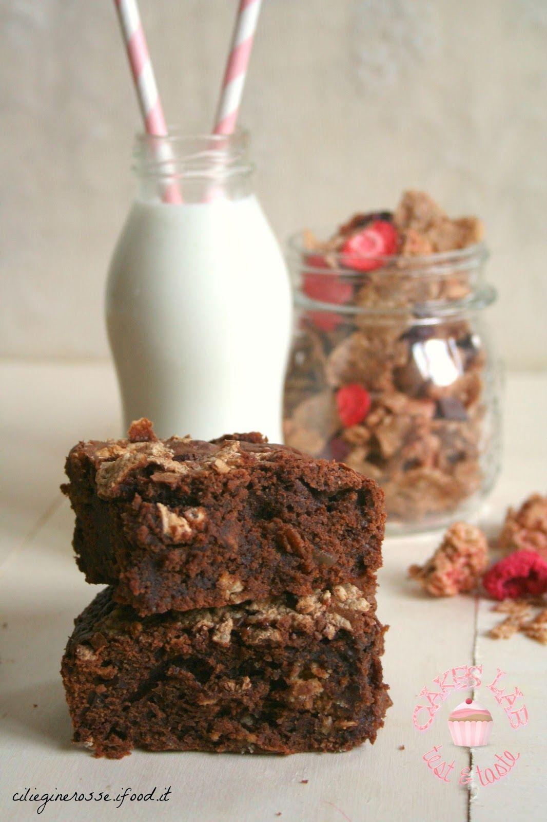Letizia in Cucina: Brownies con cocco rapè e frutti rossi ...