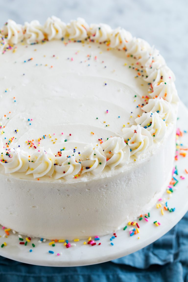 Amazing Birthday Cake The Perfect Funfetti Sprinkled Cake Its Funny Birthday Cards Online Inifodamsfinfo