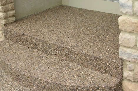 Exposed Aggregate Concrete Driveway Costs Exposed Aggregate