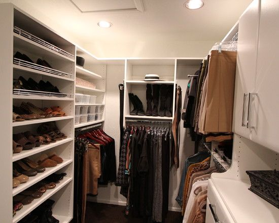 walk in closets ideas design pictures remodel decor and on extraordinary small walk in closet ideas makeovers id=51178