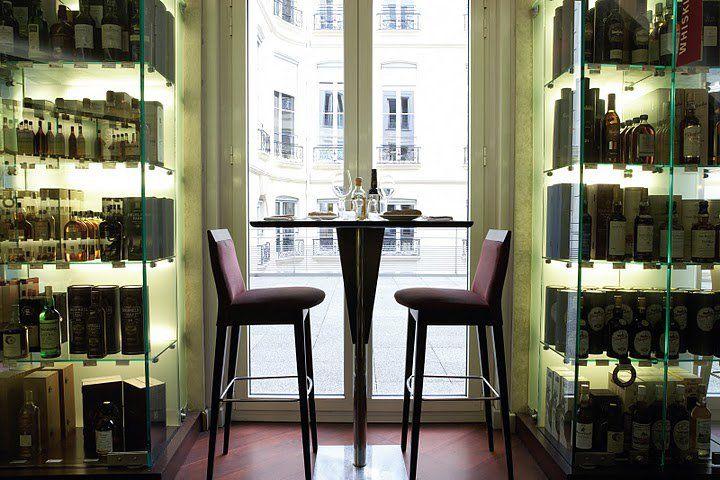 Lavinia Paris Bar A Vin Restaurant The Cave Downstairs Has