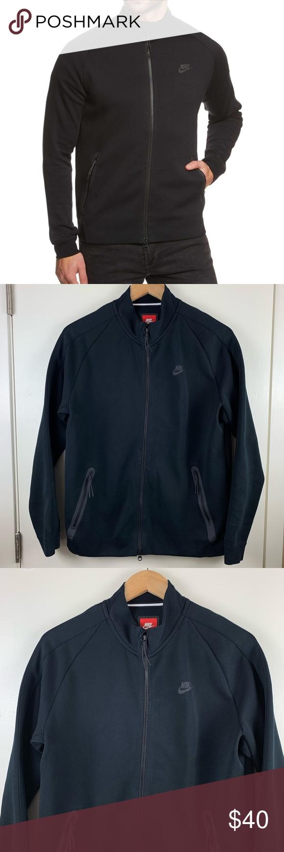 Nike F.C Tech Fleece N98 Black Full Zip sweatshirt Preowned