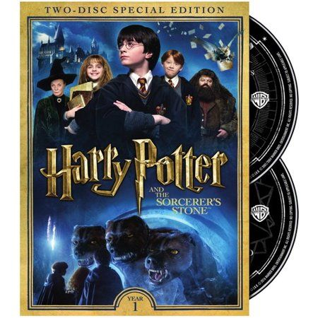 Harry Potter And The Sorcerer S Stone Dvd Walmart Com In 2021 The Sorcerer S Stone Harry Potter Years Beast Film