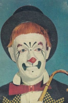 Vintage 1940s Clown Images - gruesome & beautiful #13 | Clown in