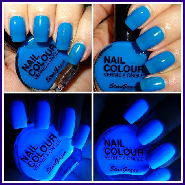 Wendys Delights Stargazer Neon Blue Nail Polish Stargazerbeauty