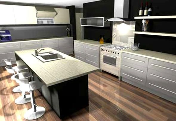 Design Your Own Kitchen With 3d Design Software Sample Pictures From 2020 Kuchen Design Kuchendesign Kuchengestaltung,Colours That Go With Green And Grey