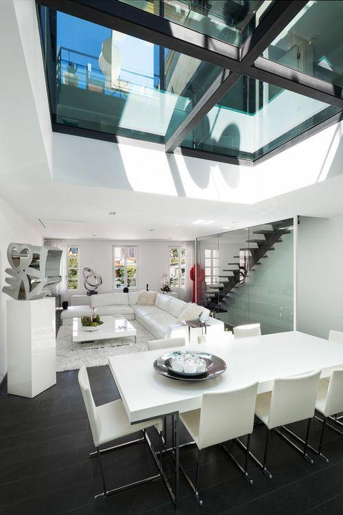 livingpursuit \u201cMaison P1 Vincent Coste Architecte \u201d INTERIORS - hi tech loft wohnung loft dethier architecture