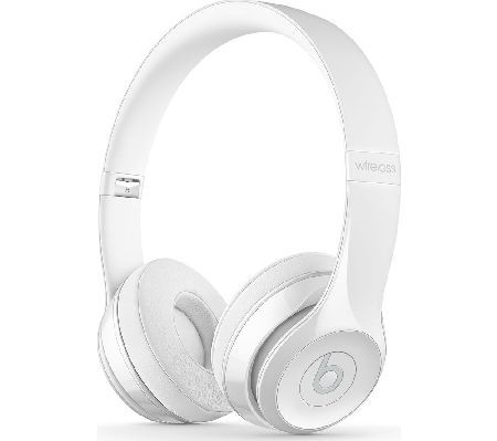 Beats By Dr Dre Solo 3 Wireless Bluetooth Top Features Wirelessly Connect To Your Iphone Apple Wat With Images Wireless Beats White Beats Headphones White Headphones