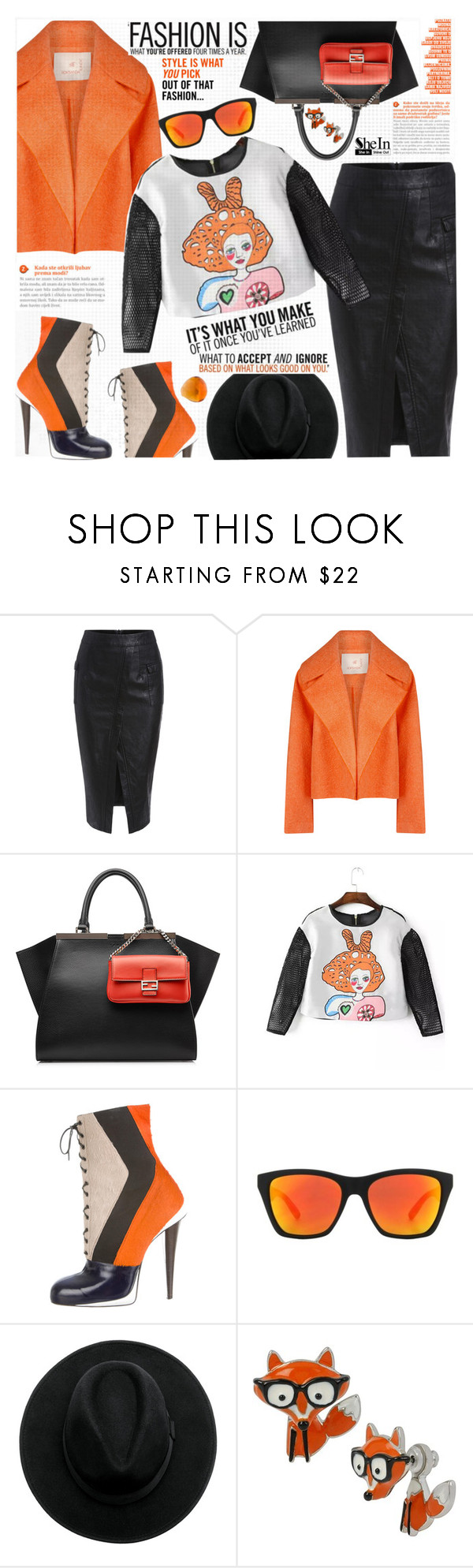"""Fashion is..."" by katjuncica ❤ liked on Polyvore featuring Roksanda, Fendi, VonZipper, Betsey Johnson, Lalique, women's clothing, women's fashion, women, female and woman"