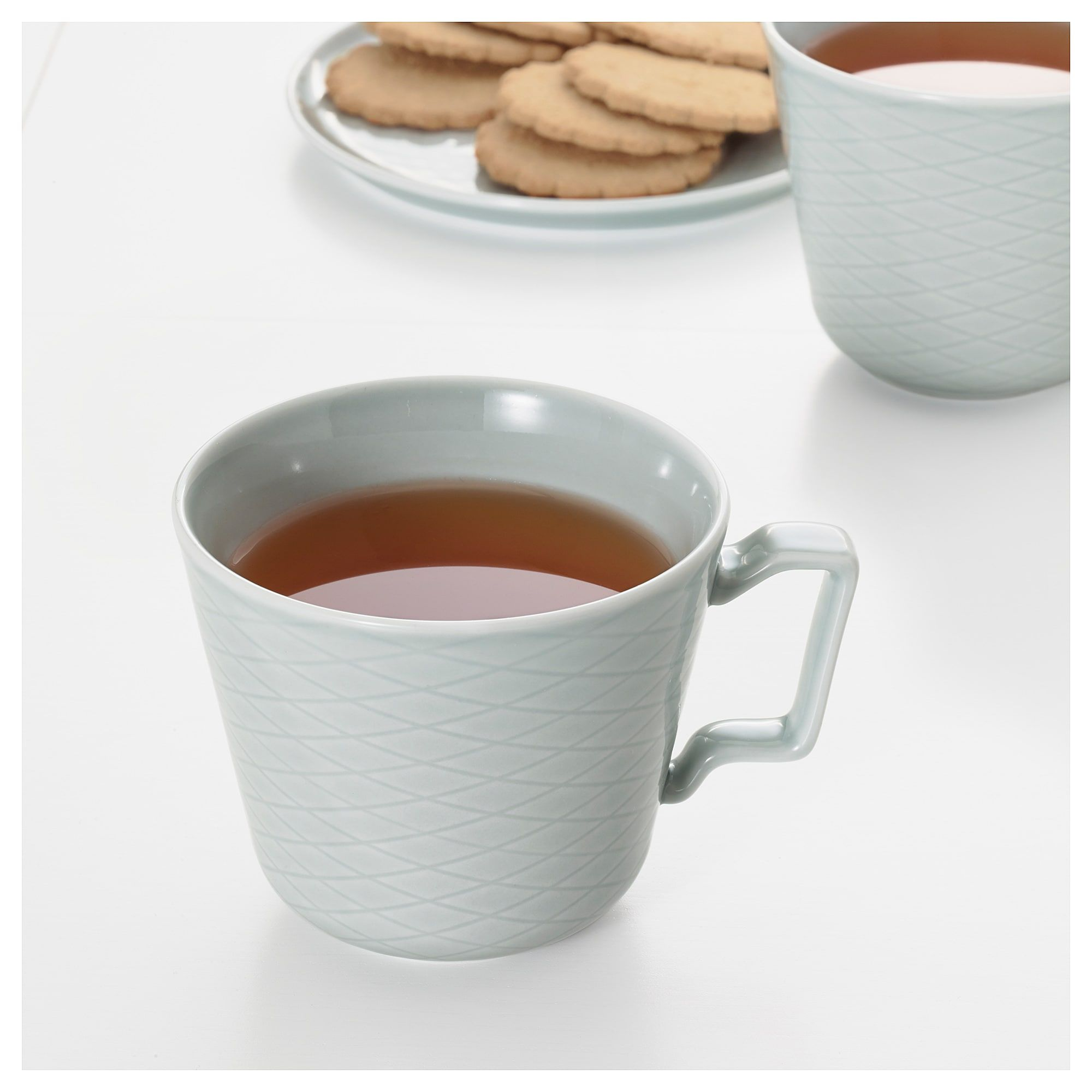 KRUSTAD Mug light gray IKEA in 2020 Mugs, Grey mugs