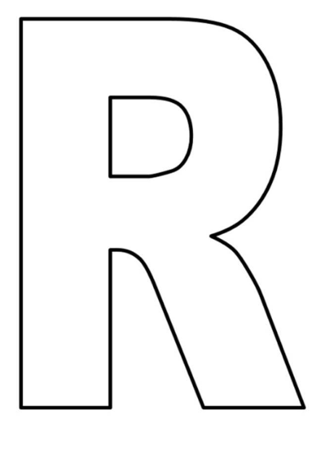 moldes de letras grandes para imprimir manualidades romina