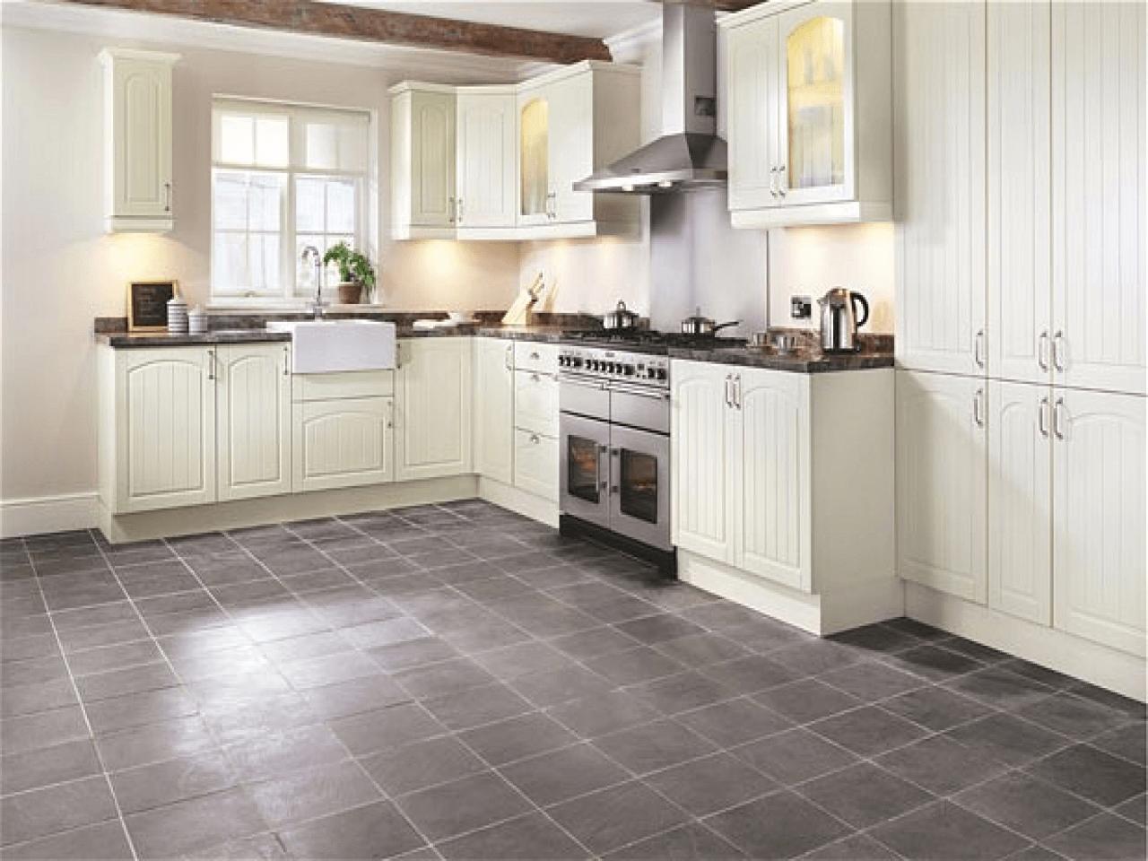 Gray slate porcelain tile kitchen flooring   Slate kitchen ...