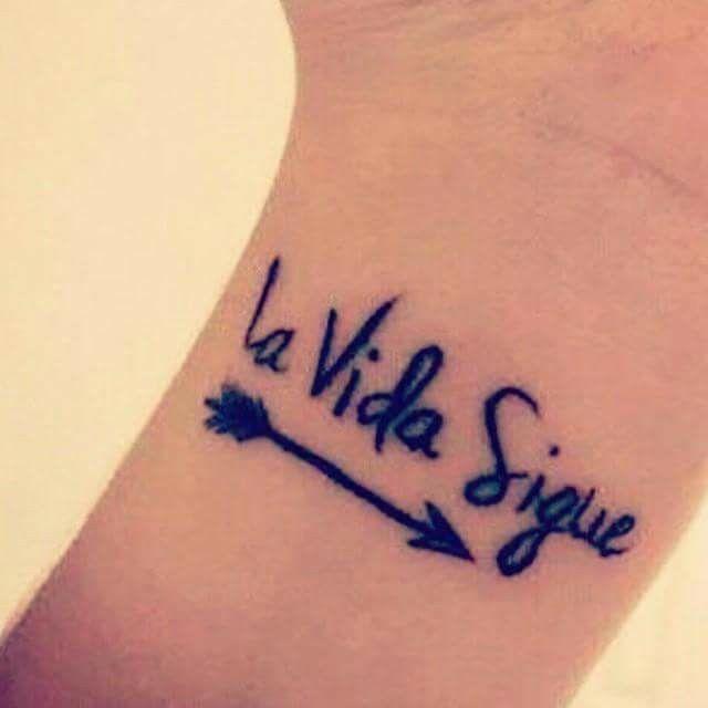 La Vida Sigue Tattoos Tattoos Body Art Tatting