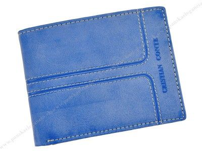 Pánska kožená peňaženka CRISTIAN CONTE  #menswallet #wallets #fashion #leather #cristianconte