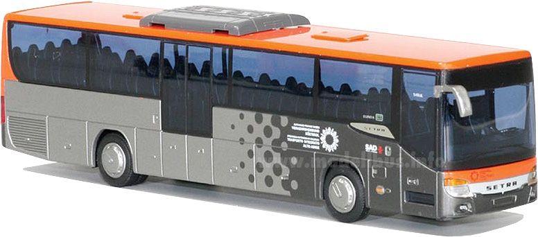 Setra S 415 UL GF modellbus info  Regiobusdesign der SAD