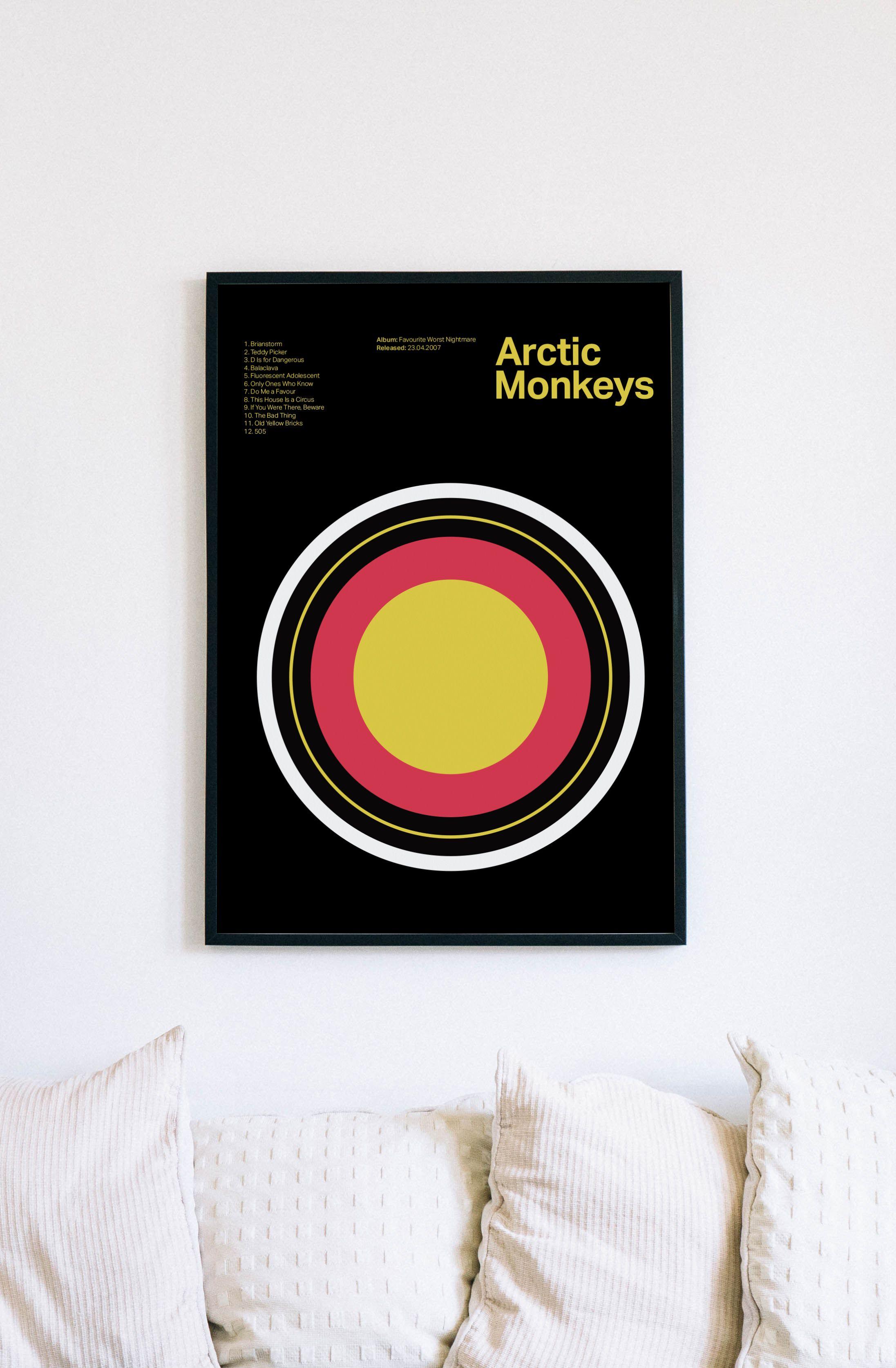 arctic monkeys fwnarctic monkeys poster