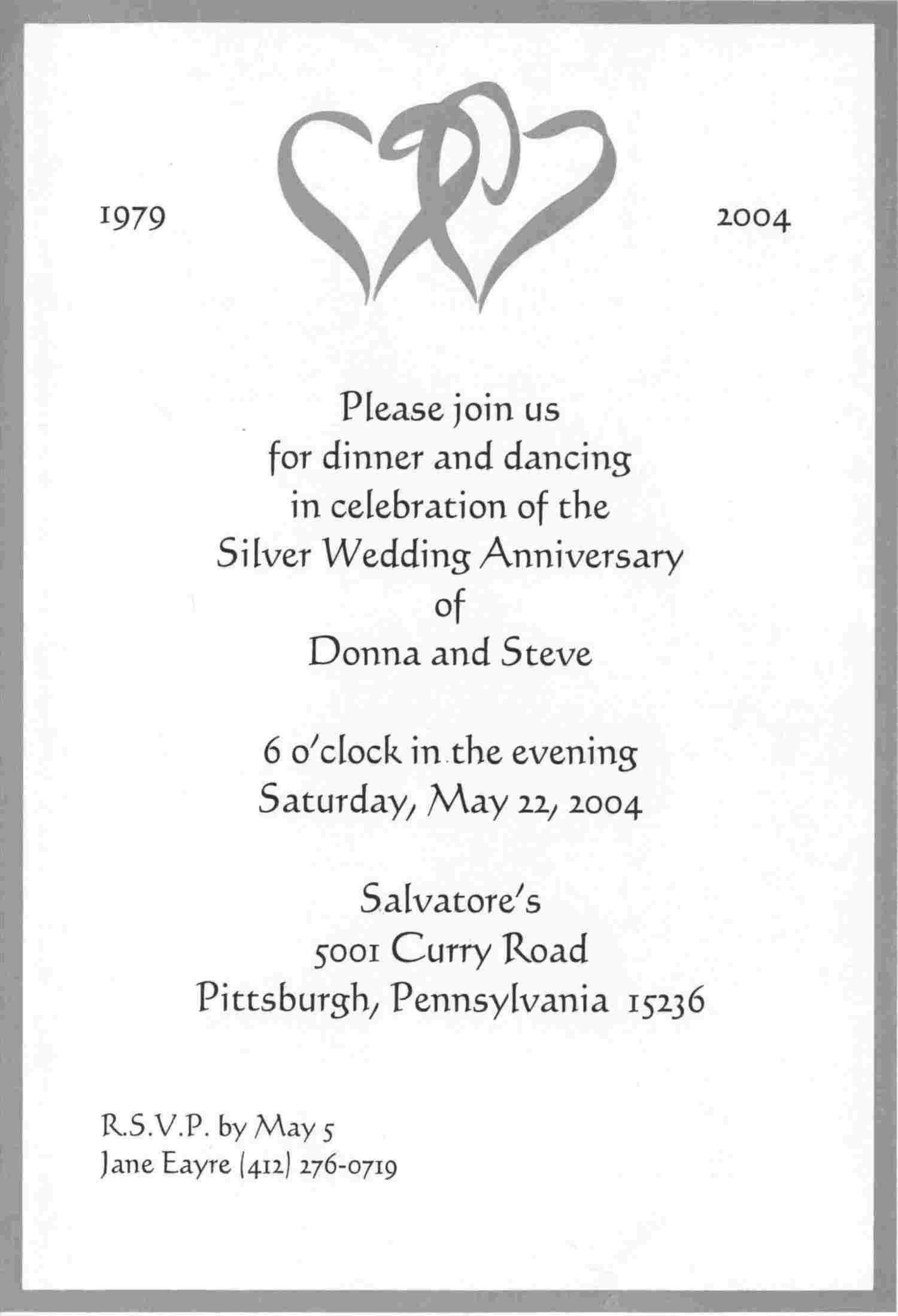 wedding invitation announcement