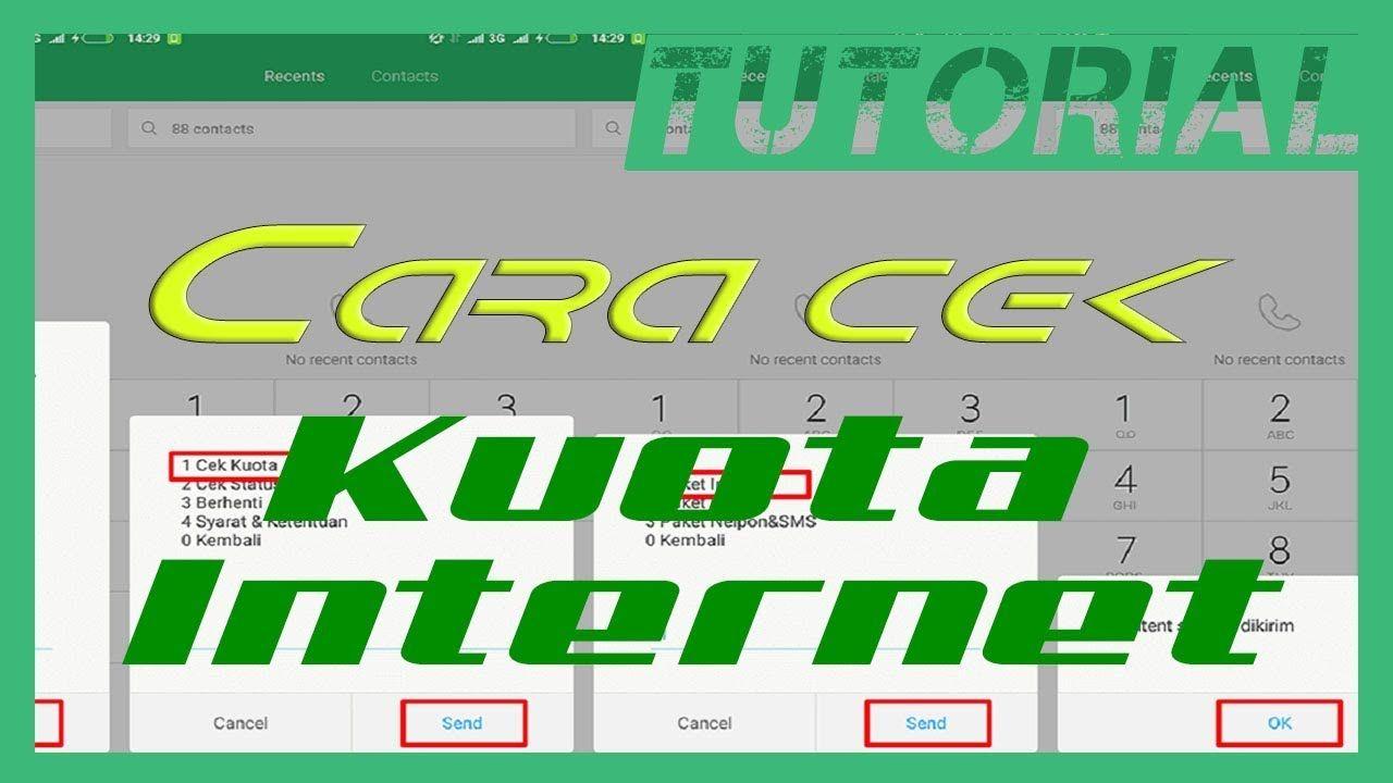 Cara Lengkap Cek Kuota Internet Telkomsel, AS, danHalo | Cek