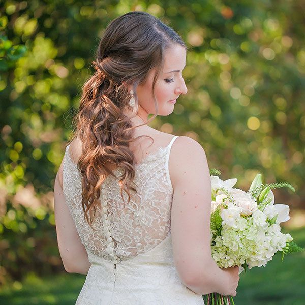 New Hairstyle For Wedding Ceremony: 25 Wedding Hairstyles For Brides With Long Hair