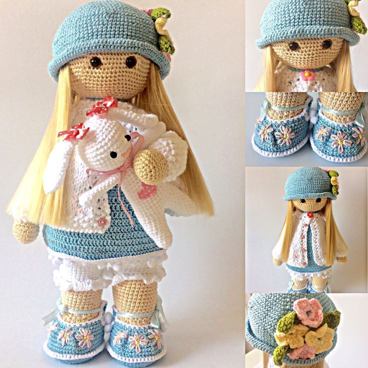 Risultati immagini per Cubby Amigurumi nativity #crochetdolls ...