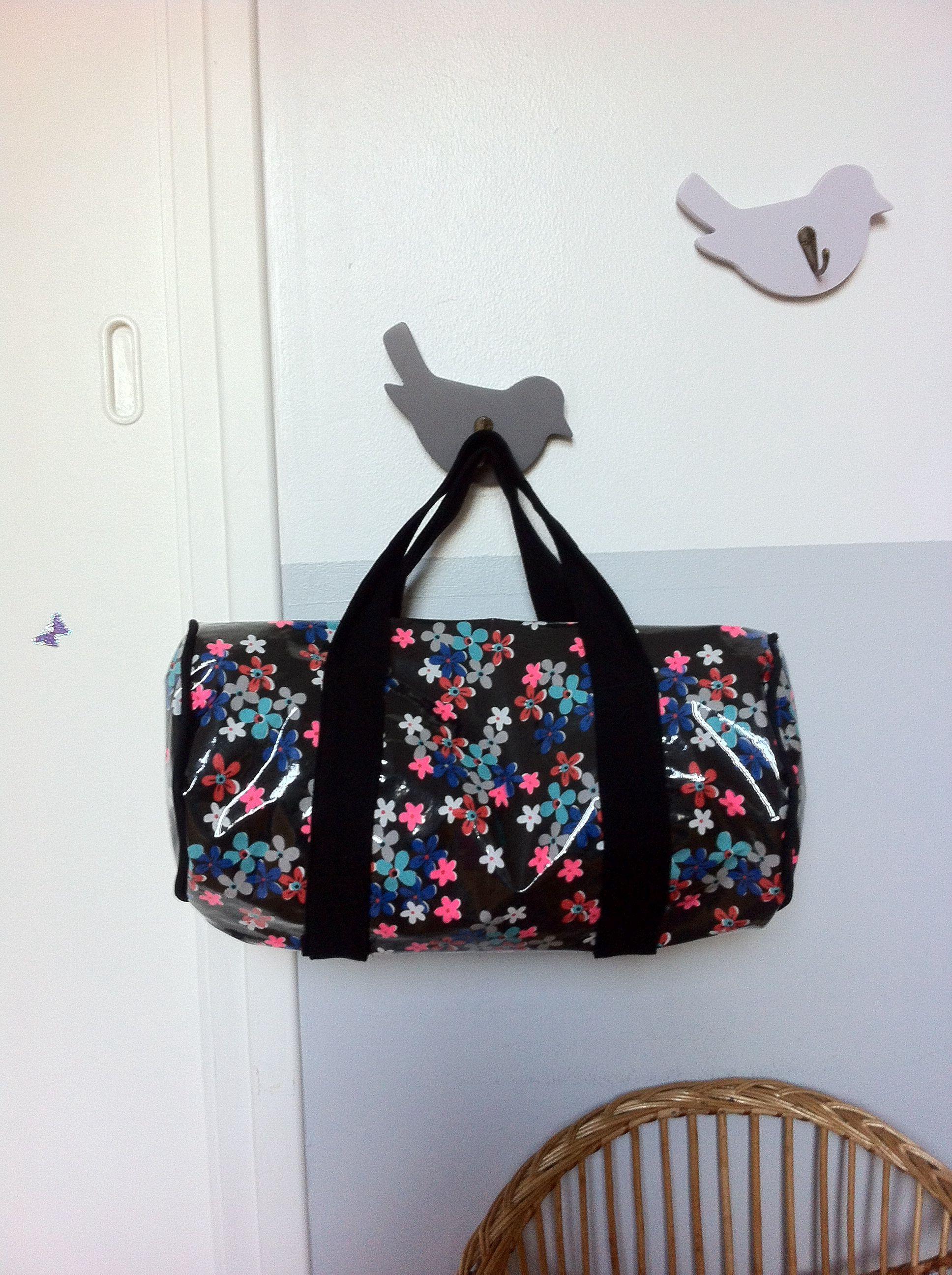 lili rose d cembre 2013 sac de piscine en tissu enduit petit pan d 39 apr s le tuto fds sac de. Black Bedroom Furniture Sets. Home Design Ideas