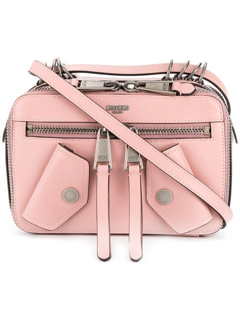 dc24d42c6a62  moschino  bags     Pink Leather