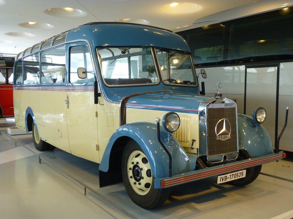 Oldtimer 1940 Mercedes O 2600 Mercedes Benz Museum Stuttgart Mercedes Bus Mercedes Benz Trucks Mercedes Benz