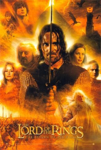 Poster: Lord of the Rings: The Return of the King, 40x27in.