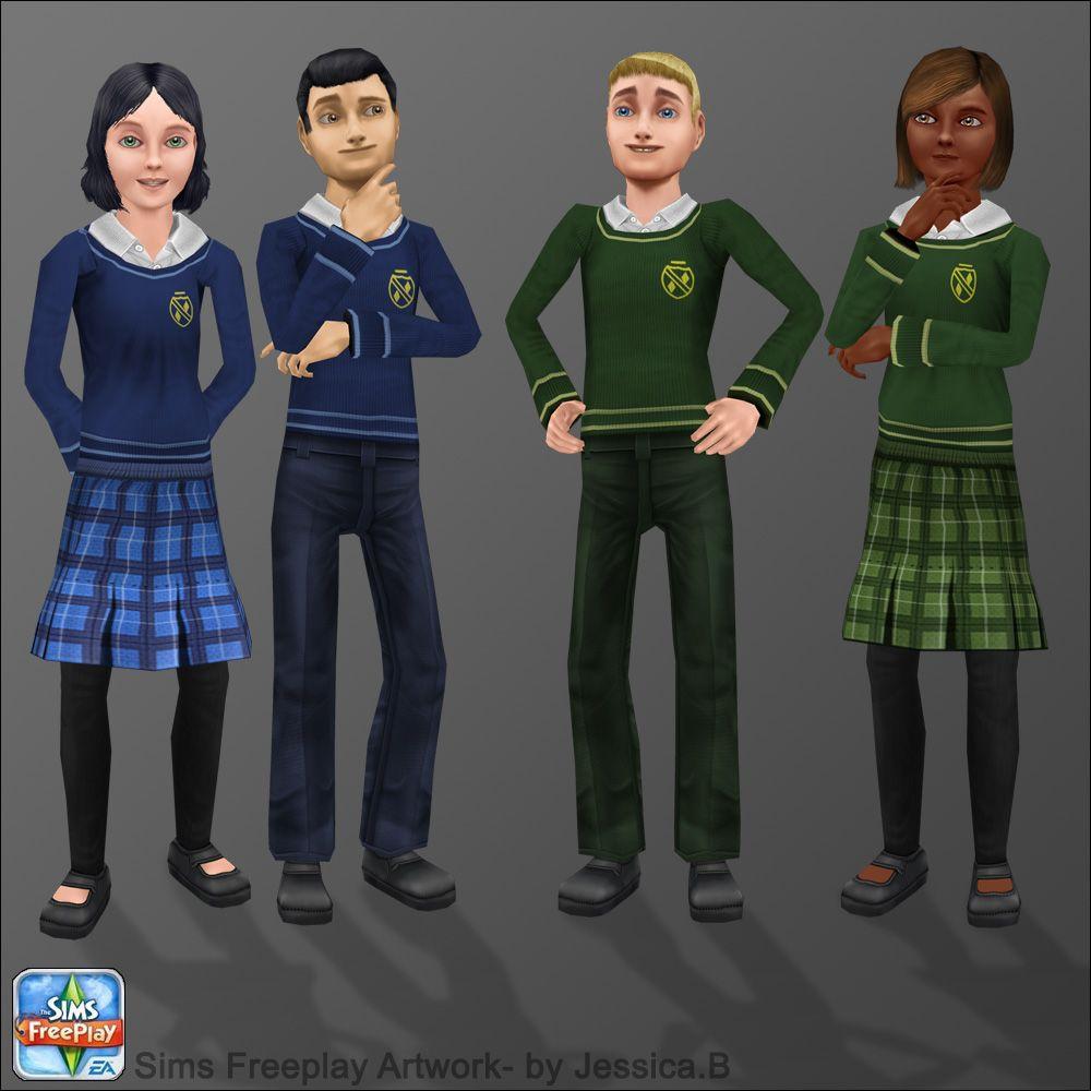 Sims Freeplay School Tween Sims Tween Cute Little Things