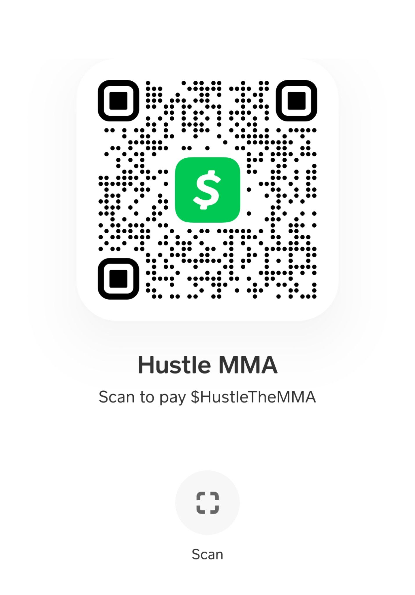 Hustle The MMA Cash App. Help support Hustle The MMA